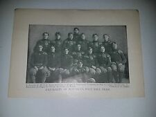 Minnesota Golden Gophers University 1901 Football Team Picture Rare!
