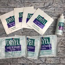 Dryel Stain Remover 4 Stain Remover Absorbent Pads & 3 Dryer Activated Cloths