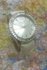 KC2849 Kenneth Cole Ladies Swarovski Leather Strap Watch