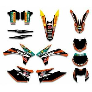 KTM EXC EXCF 125/200/250/300/350/450/500 2012 to 2013 Graphics DECALS Sticker Ki