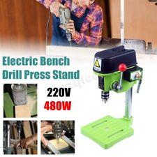 480W Top 7 Speed 10mm Bench Drill Pillar Stand Press Mini Electric Drill