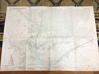 Antique Map Frimley Mytchett Camberley 1931 Surrey Hampshire Hants