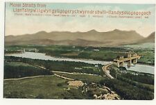 Vintage Postcard - Menai Straits from Llanfairpwllgwyngogerych.. - Unposted 2521