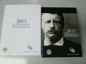 2013 Theodore Roosevelt Coin and Chronicles Commemorative Set