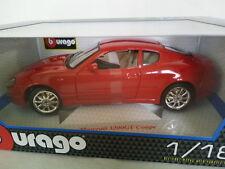 BURAGO 1/18 MASERATI 3200 GT Coupé Rouge. #18-12031.