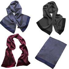 100% soie mulberry Echarpe homme double couche longue foulard élégant