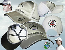 New Henri Lloyd MERCEDES GP Petronas ROSBERG Baseball Cap Adjustable