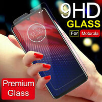 For Motorola Moto Z4 / Z4 Play Real Premium HD Tempered Glass Screen Protector