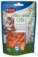 PREMIO Cheese Chicken Cubes With Chicken and Cheese 50g