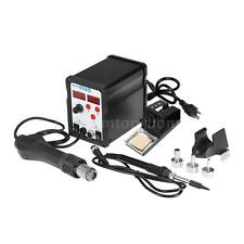 898D Digital SMD Rework Station Welder Hot Air Gun Soldering Iron Stand Set T9R8
