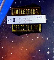Star Trek USS ENTERPRISE NCC 1701-E Playmates 1998 RARE VARIANT NUMBER #034 NM