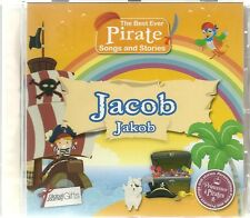 JACOB/JAKOB - THE BEST EVER PIRATE SONGS & STORIES PERSONALISED CHILDREN'S CD