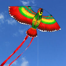 Free shipping NEW parrots kite single line breeze outdoor fun sports for kids