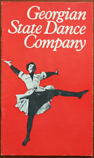 Gregorian State Dance Company, London Coliseum Programme 1973