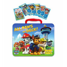 Paw Patrol Top Trumps Cards + Collectable Metal Tin Card Game