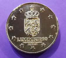 Médaille de table sur l'Europe des 12 (Luxembourg)