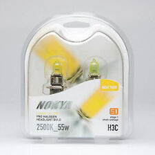 Nokya H3C Headlight Bulbs - Hyper Yellow 2500K 55W (Stage 1)