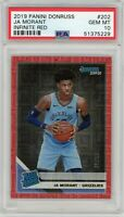 Ja Morant 2019-20 Donruss Rated Rookie Infinite Red /99 PSA 10 GEM MINT Low Pop!