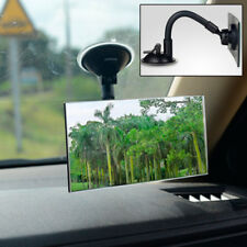 Universal Auto Truck Wide Flat Interior View Mirror Suction Stick Rearview Rear