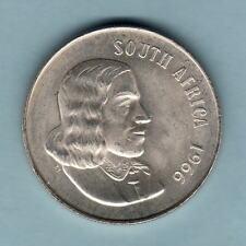 New listing South Africa. Silver 1966 1 Rand. English legend. Bu