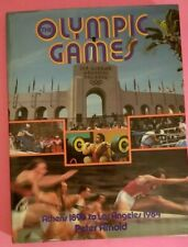 OLYMPIC GAMES, Athens 1896 to Los Angeles 1984, Peter Arnold, Hardcover, 1983