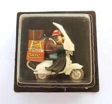 FIGURINE JOE BAR TEAM HACHETTE NO.44 AL AKOURCE PIAGGIO VESPA 125 PX IN BOX