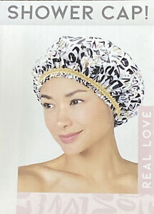 Betty Dain REAL LOVE Durable Waterproof  Mold Resistant Shower Cap Real Quality