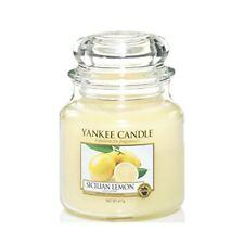 Yankee Candle Bougie moyenne Jarre « Citron sicilien »