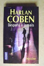 Livre de poche Disparu à jamais roman thriller /T8
