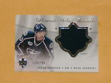 2008-09 Ultimate Debut Threads Jersey Hockey Card # UDT-JV Jakub Voracek /200