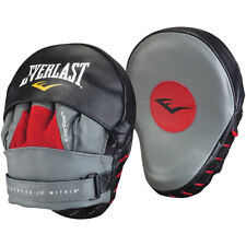 Everlast Leather Mantis Punch Mitts - Red
