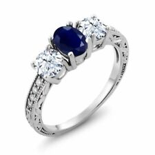 Sapphire Sterling Silver Fine Rings