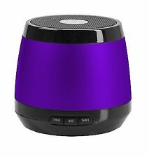 HMDX Jam Bluetooth Wireless Portable Speaker iPhone Mini iPad Mp3 Purple