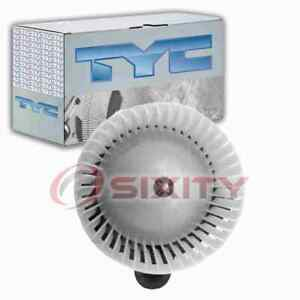 TYC Front HVAC Blower Motor for 2005-2009 Saab 9-7x Heating Air Conditioning pc