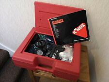 K`Nex Building Construction Explorer Kit 35035/45035 with Carry case Vgc