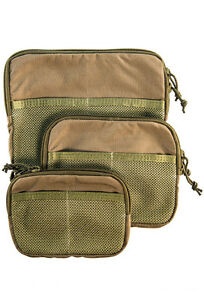 HSGI 15MUH-MUP Mesh Utility Pouch-Hook Back-Choose Your Size & Color