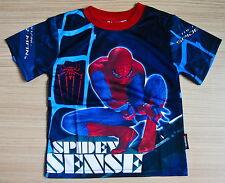 Marvel SPIDERMAN Boys Girls Kids T Shirt Size L Age 8-10 #29 New Gift FREE SHIP