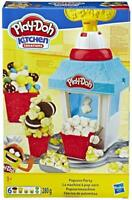 Play-Doh E5110EU5 Kitchen Creations Popcorn Party Play Food Set with Six Non-Tox