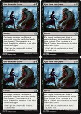 4x RISE FROM THE GRAVE Eldritch Moon MTG Black Sorcery Unc
