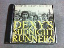DEXY'S MIDNIGHT RUNNERS - BBC Radio 1 Live In Concert CD