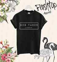Bed Taker London T Shirt Ted Baker Morning Person Nap Queen Vogue Coffee Costa