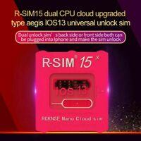 R-SIM15 Nano Unlock RSIM Card for iPhone 11 Pro XS Max XR 8Plus 6 Plus iOS13.6