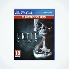 UNTIL DAWN sur PS4 / Neuf / Sous Blister / Version FR