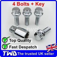 4 x ALLOY WHEEL LOCKING BOLTS FOR VOLVO XC70 V70 (2000-2016) STUD LUG NUTS [Z0b]