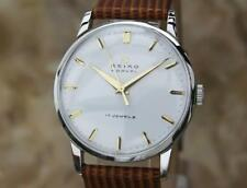 Seiko Marvel 1950s Manual Stainless Steel Mens Vintage Japanese Dress Watch EE9