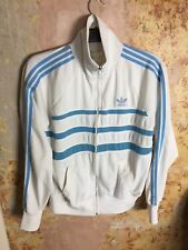 Vintage Adidas Ventex Tracksuit Top 1970s Medium Mens Retro Made In France