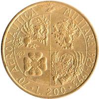 COIN / ITALY / 200 LIRA 1993   #WT3600