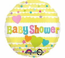 "17"" YELLOW BABY SHOWER FOIL BALLOON BABY CELEBRATION DECORATION BABY PARTY NEW"