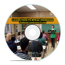 Learn How To Speak Armenian, Fluent Foreign Language Training Class, DVD G93