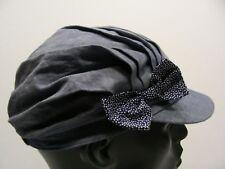 H&M - BLUE - 4-6Y SIZE CADET STYLE CAP HAT!